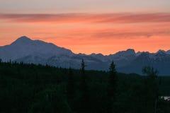 Mount McKinley, Alaska stock images