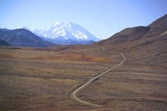 Mount McKinley, Alaska, USA Stock Photo