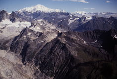 Mount McKinley area Royalty Free Stock Photo
