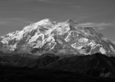 Mount McKinley - Denali nationalpark arkivbild