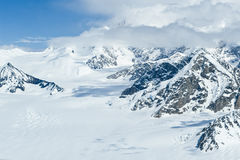 Mount McKinley in winter Stock Images