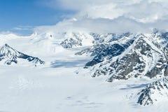 Mount McKinley in winter stock images