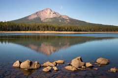 Mount McLoughlin Alpine Lake Wilderness Oregon Royalty Free Stock Images
