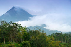 Mount Merapi Stock Images