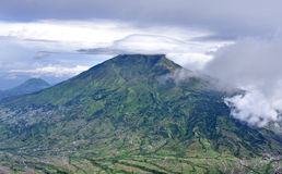Mount Merbabu dormant stratovolcano,Indonesia Royalty Free Stock Photography