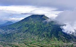 Mount Merbabu dormant stratovolcano,Indonesia Royalty Free Stock Photos