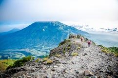 Mount Merbabu Stock Image
