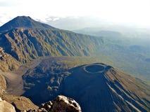 Mount Meru royaltyfri foto