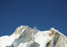 Mount Meru in Himalayan royalty free stock photos