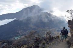 Mount Meru, Arusha National Park, Tanzania stock photo