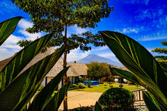 Mount Meru in Tanzania Stock Image