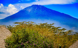 Mount Meru in Tanzania Stock Photos