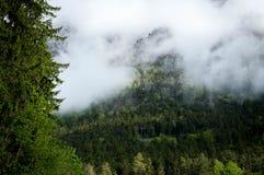 mount mgłowa Zdjęcie Royalty Free