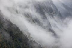 mount mgłowa Fotografia Stock