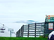 mount mgłowa obrazy stock