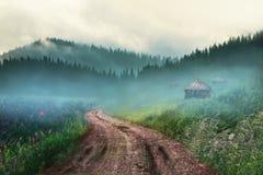 mount mgłowa Zdjęcie Stock
