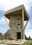 Mount Mitchell Tower. Lookout Tower at Mount Mitchell, North Carolina Stock Photos