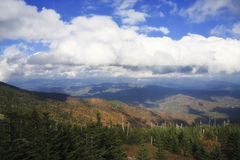 Mount Mitchell View Royalty Free Stock Image