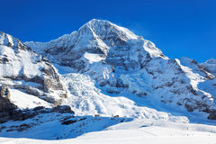 Mount Monch, Switzerland Stock Images