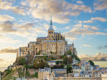 Mount of Mont Saint Michel, France Stock Photo