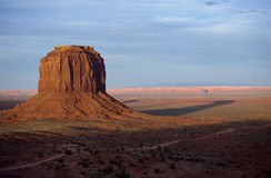 Mount at monument valley by sunset, USA Stock Images