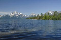 Mount Moran Royalty Free Stock Photography