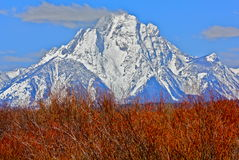 Mount Moran Royalty Free Stock Photos