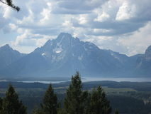 Mount Moran royalty free stock photo