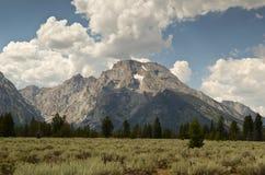 Mount Moran - Grand Teton national Park Royalty Free Stock Images