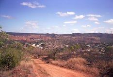 Mount Morgan. Old Mining town Queensland mount morgan royalty free stock photo