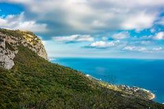 Mount Mshatka-Kayasy in Foros. The south coast of Crimea stock photo