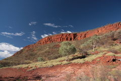 Mount Nameless- Australia Royalty Free Stock Photo