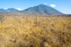 Mount Nantai Royalty Free Stock Photo