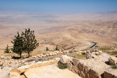 Mount Nebo, Asia Royalty Free Stock Images