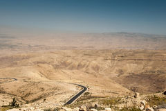 Mount Nebo, Asia Royalty Free Stock Photo