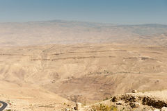Mount Nebo, Asia Royalty Free Stock Photos