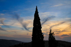 Mount Nebo in Jordan Royalty Free Stock Photography