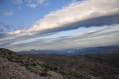 Mount Nemrut Провинция Adıyaman Взгляд сельской местности стоковое фото