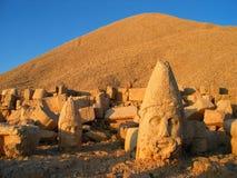Mount Nemrut. Heads of Greek gods on Mount Nemrut, Turkey Stock Photos