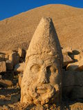 Mount Nemrut. Giant statue of Hercules on Mount Nemrut, Turkey Stock Image