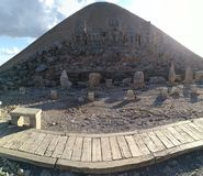 MOUNT NEMRUT & x28;Throne of the Gods& x29; royalty free stock photography