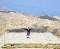 On Mount Nemrut, Turkey. High on Mount Nemrut in the south-east of Turkey stock photos