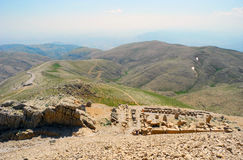 Mount Nemrut in Turkey. Stock Images