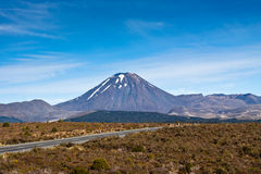 Mount Ngauruhoe Royalty Free Stock Photography