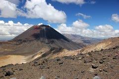 Mount Ruapehu, Mount Ngauruhoe Royalty Free Stock Photography