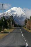 Mount Ngauruhoe. Mount, Ngauruhoe, new zealand, north island Stock Photography