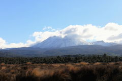 Mount Ngauruhoe Royalty Free Stock Images