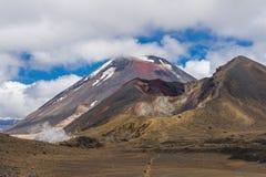 Mount Ngauruhoe Stock Image