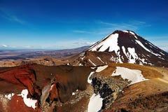 Mount Ngauruhoe, New Zealand stock photos
