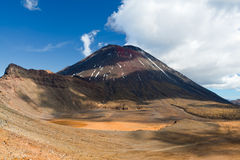 Mount Ngauruhoe, New Zealand Stock Photos